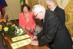 podpisy na pamětní listy