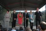 setkání s občany Tanvaldu - podium